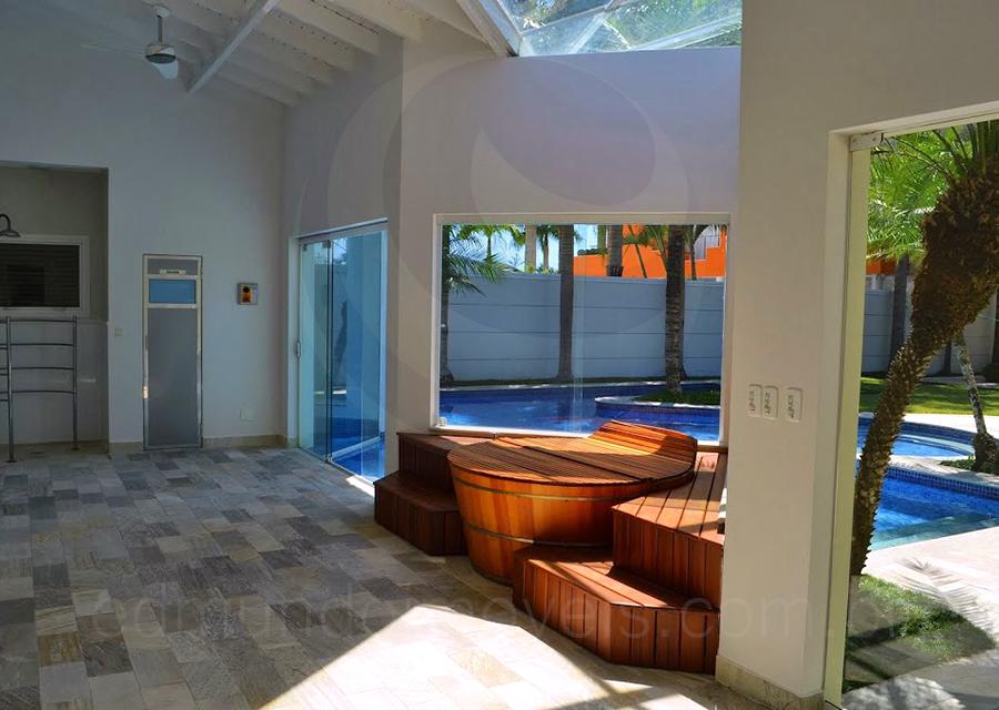 Casa 410 - Ofurô, sauna e área de descanso