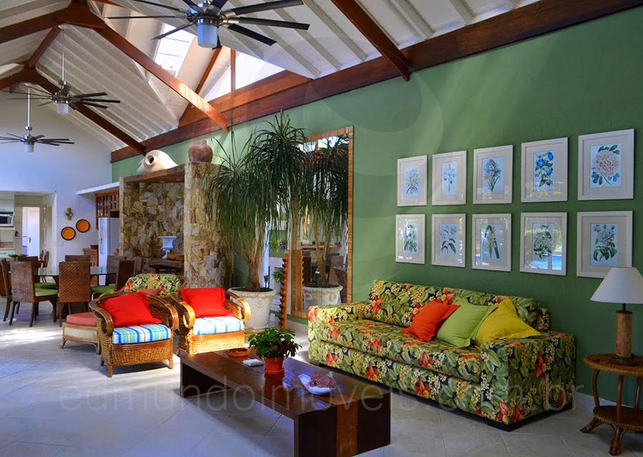 Casa 830 – Lounge com TV