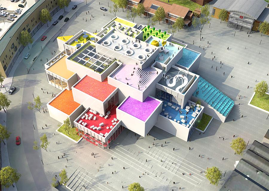 Lego House, em Billund