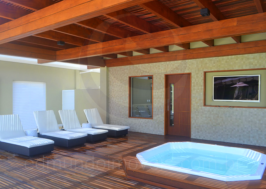Casa 477 – Sauna, Spa e Área de Descanso
