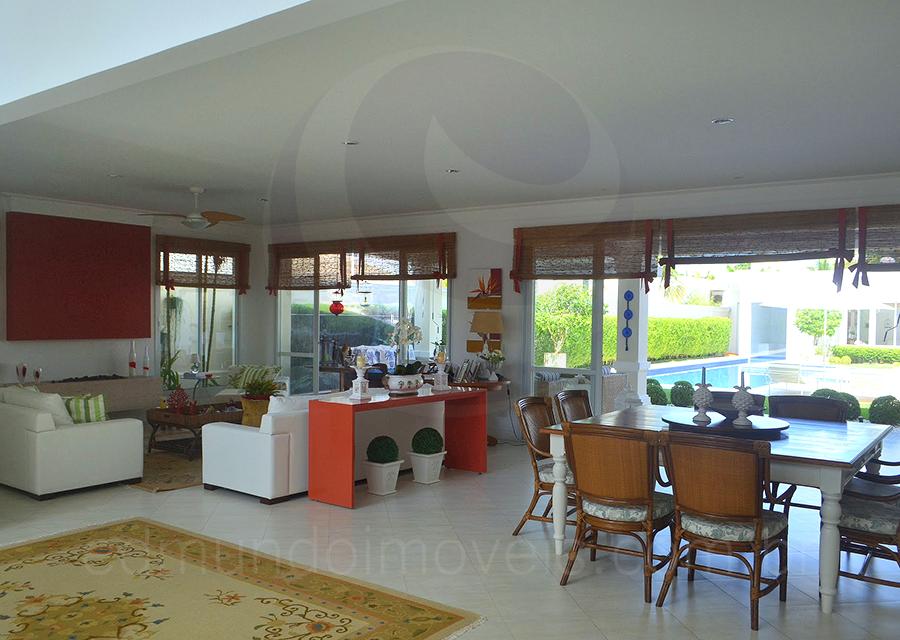 Casa 590 – Sala para 3 Ambientes