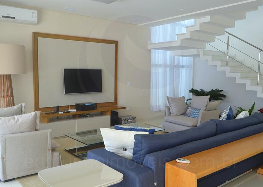 Casa 142 – Living com TV