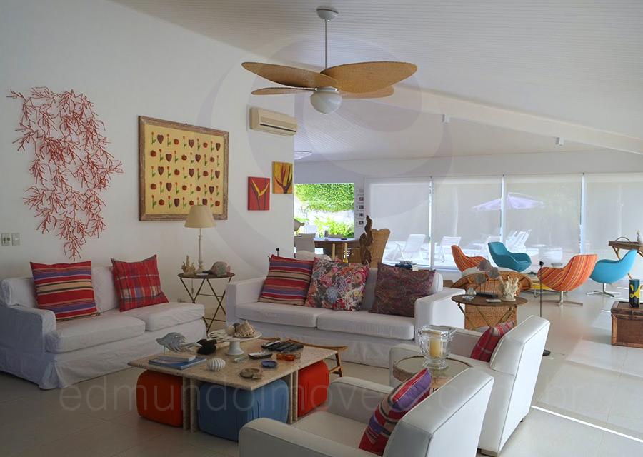 Casa 1003 – Living com TV