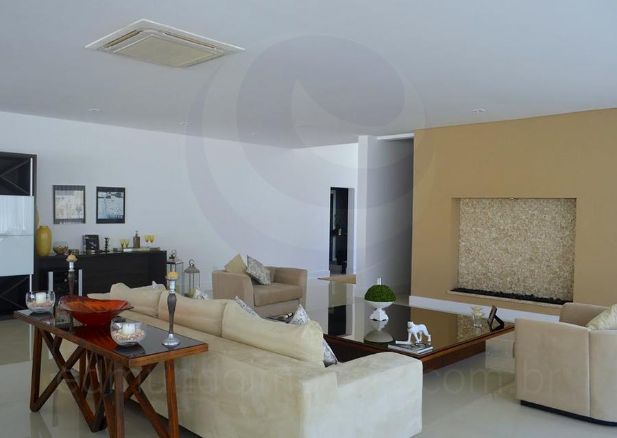 Casa 798 – Sala de Estar com Lareira