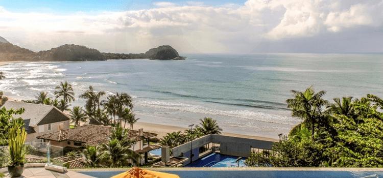 Casas de luxo próximo à praia e centros comerciais no Guarujá: conheça os destaques do Jardim Acapulco