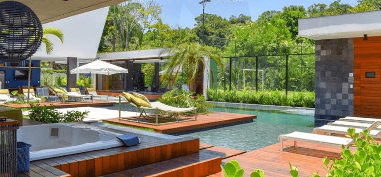 Residencial de luxo no litoral paulista